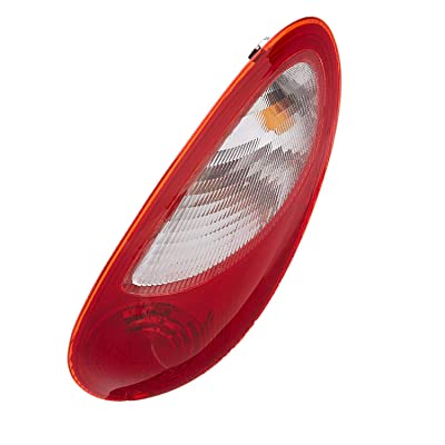 Right Passenger Side Tail Light Lens & Housing for 2006-2010 Chrysler PT Cruiser - Parts Link # CH2819109 OE # 5116222AB - Includes the Bulb: Automotive