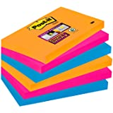 Post-it Notes Super Sticky 76 x 127 mm - Collection Bangkok - Lot de 6