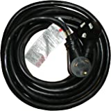 25' Ft RV 30 Amp STW 10/3 Heavy Duty RV Extension Cord Power Supply Cable, Trailer Motorhome Camper by Hi-Tech Cable