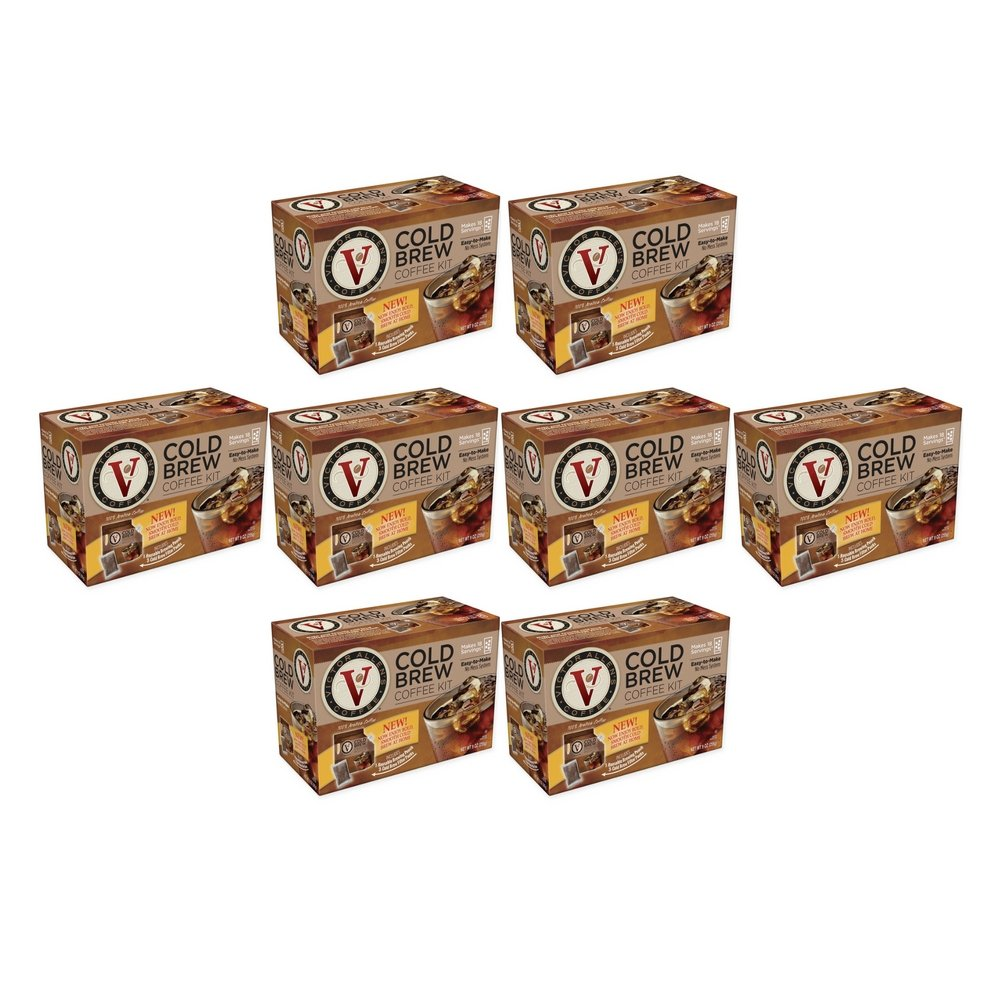 Victor Allen Coffee Now Offers A VA Cold Brew Coffee Fridge Kit With A Reusable Pouch (8 Box)