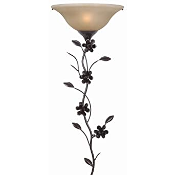 Kenroy Home 32303GFBR Blooms Wallchiere Golden Flecked Bronze Finish