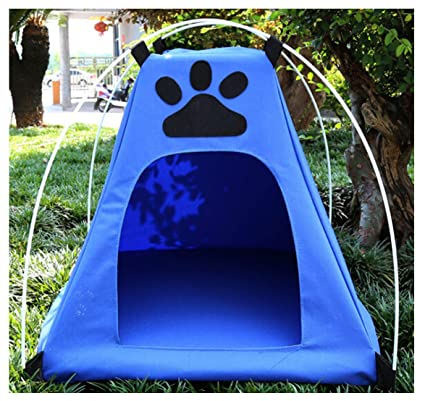 82cf201e24 Amazon.com   Muodu Pet Cat Camping Tent House Foldable Bed Pet Camping Gear  Pet Shelter Tent Indoor Outdoor Small Dogs Cats   Pet Supplies