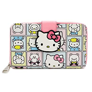 d87e1cd56 Loungefly Hello Kitty Character Frame Wallet at Amazon Women's Clothing  store: