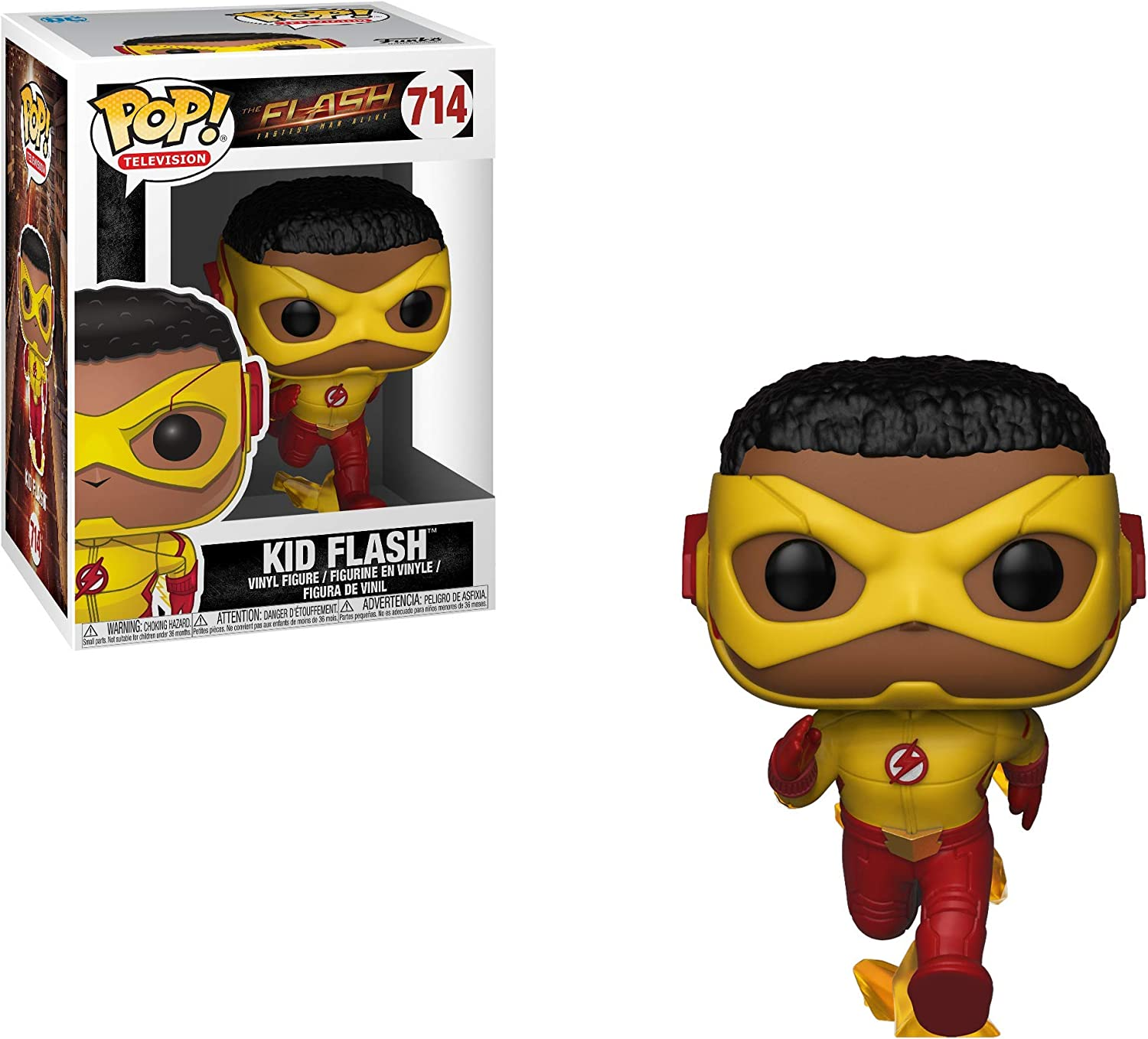 Funko- DC: The Flash: Kid Pop, Multicolor, 32117: Amazon.es ...