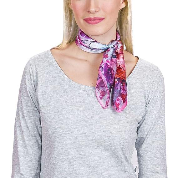c5410b38640 Allée du foulard Carré de soie Piccolo Verone Parme - 50x50 cm ...