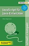 JavaScript für Java-Entwickler (3. Aufl.) (schnell + kompakt 62)