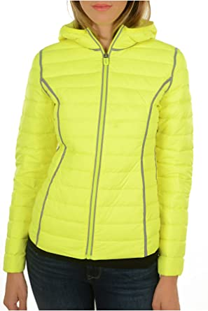 be31999f4ac1e Doudoune Jott Just Over The Top Kant Reflective Fluorescent Yellow 615 -  yellow - X-Large: Amazon.co.uk: Clothing