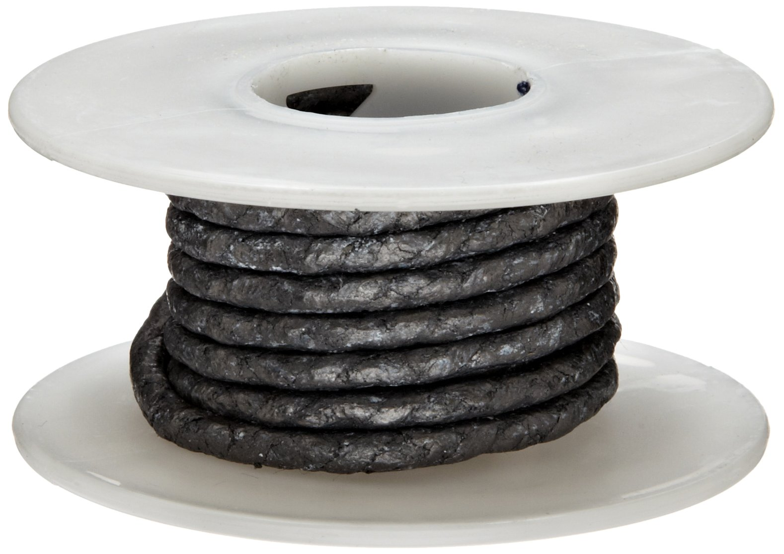 Palmetto 1585 Series Carbon with Graphite Coating Compression Packing Seal, Dull Gray, 3/4'' Square, 25' Length