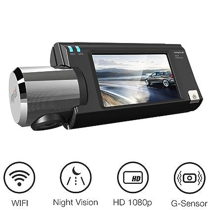 Amazon Com Wifi Dash Cam Anytek Dashboard Camera Recorder Hd 1080p