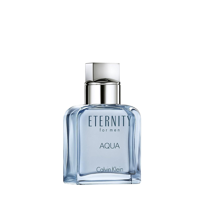 Amazoncom Calvin Klein Eternity For Men Aqua Eau De Toilette 1 Fl