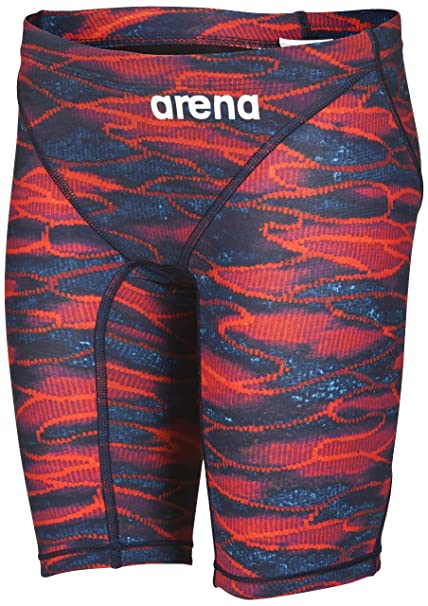 4352d783c7 arena Boy's Powerskin ST 2.0 Jammer Racing Suit, Blue / Red, ...