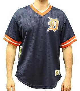 c06d1cf64 Mitchell   Ness Detroit Tigers MLB Men s Game Winner Mesh Jersey Shirt