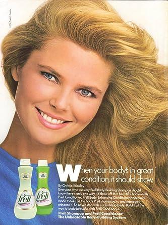 Christie Brinkley Commercial >> Amazon Com Christie Brinkley For Prell Shampoo Ad 1986