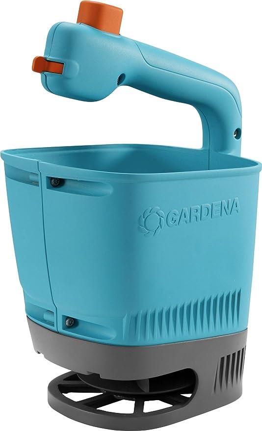 Samen u Streuer für einfaches Ausbringen von Dünger GARDENA Handstreuer M