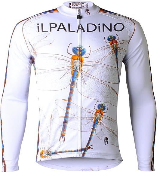 Ilpaladino Mens Cycling Shirts Short Sleeve Bike Jerseys Tight Design