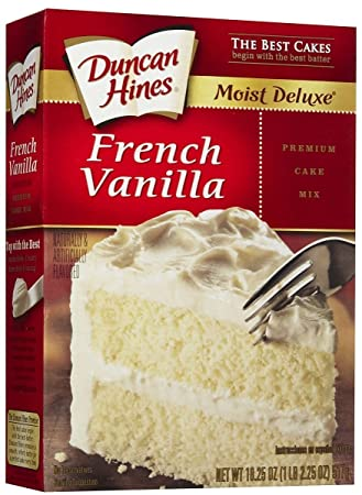 Duncan Hines French Vanilla Cake Mix Cookies