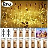 12 unidades de luz blanca cálida para botellas, Orsifow, 20 luces ...