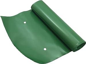 Frost King DE200 Standard Plastic Drain Away Downspout Extender, Extends 8-Feet, Green