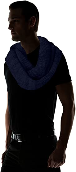 90fb0ef80a89 JACK   JONES Herren Schal JACRIB Knit Tube NOOS, Blau (Navy Blazer), One  Size  Amazon.de  Bekleidung