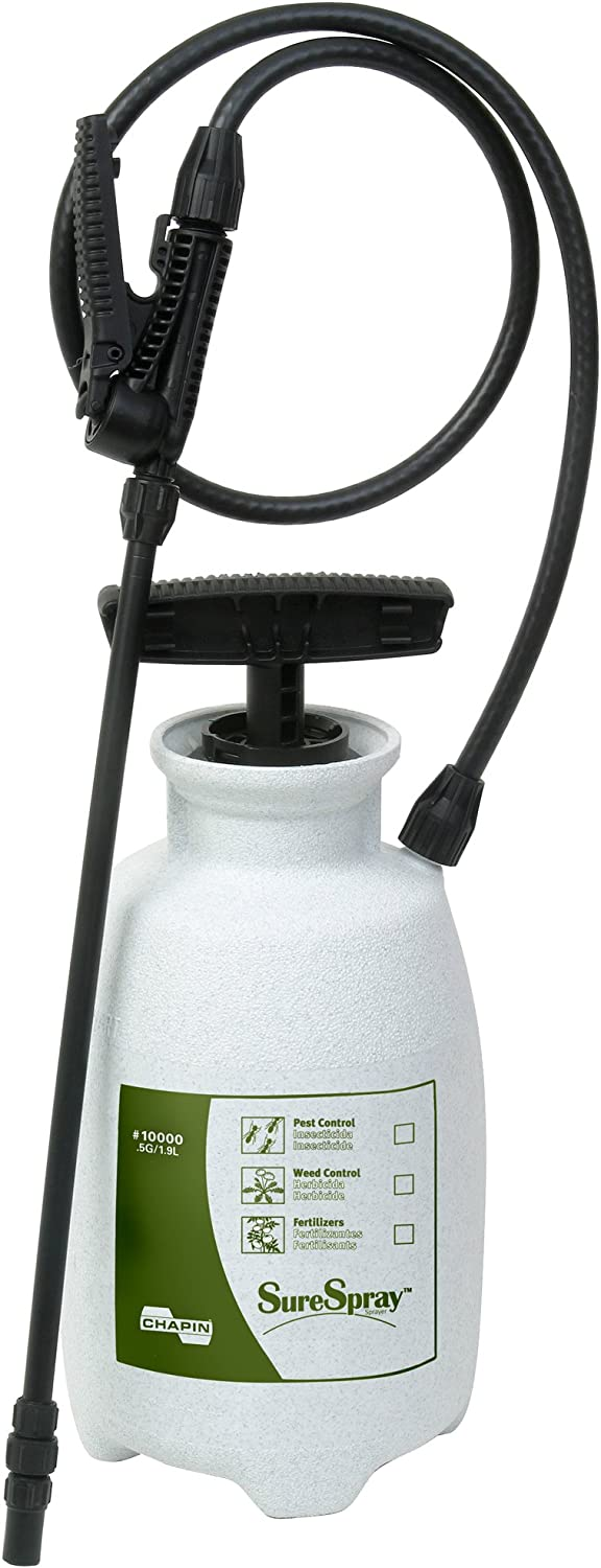Chapin 10000 1/2-Gallon SureSpray Lawn and Garden Sprayer for Multi-pupose Use, 1/2-Gallon (1 Sprayer/Package)