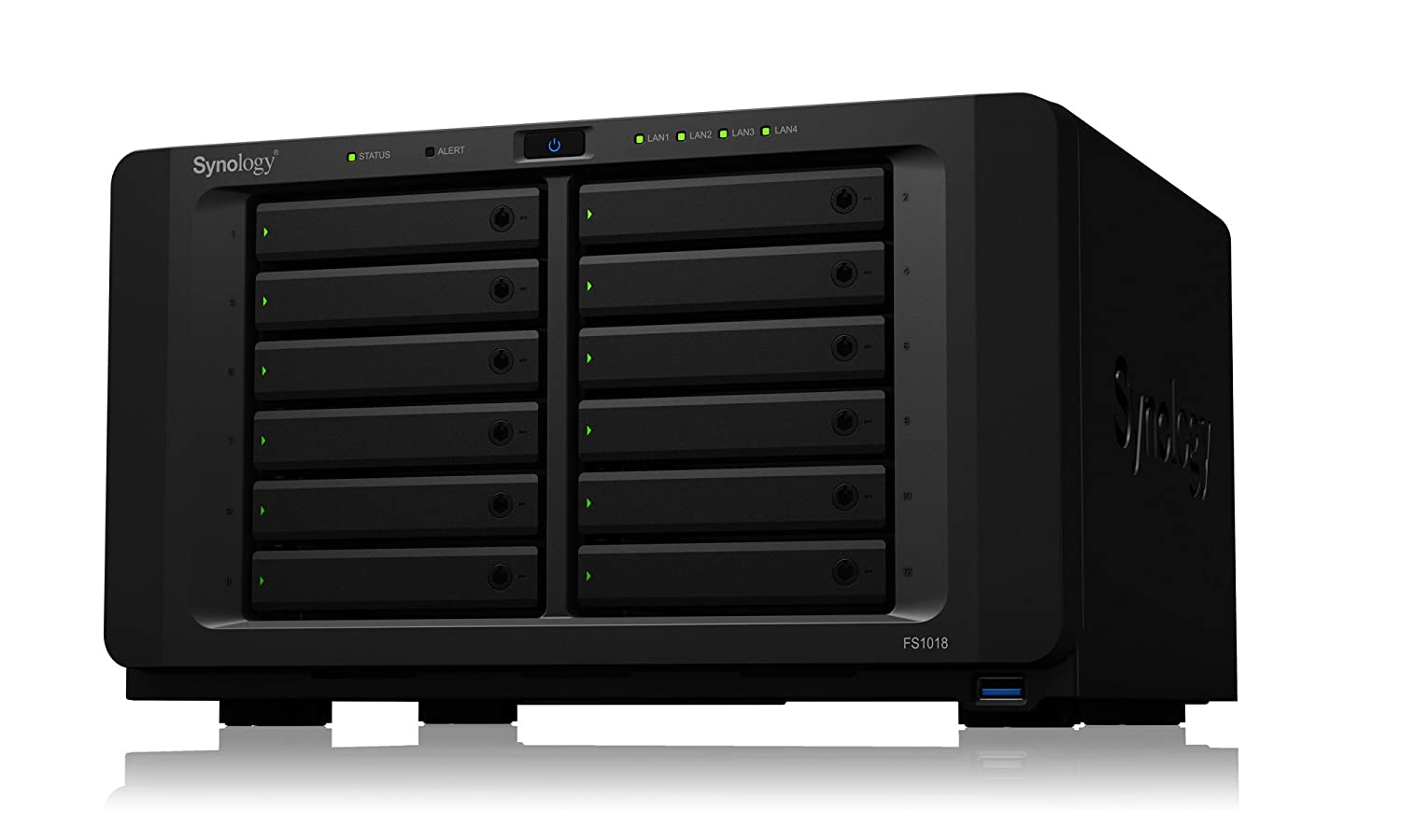 感謝の声続々! Synology FS1018 FlashStation FS1018 CS7124 [オールフラッシュエンタープライズストレージ 12ベイモデル] FlashStation CS7124 B077Y5W76N, bagger jack design:ba361c97 --- ciadaterra.com