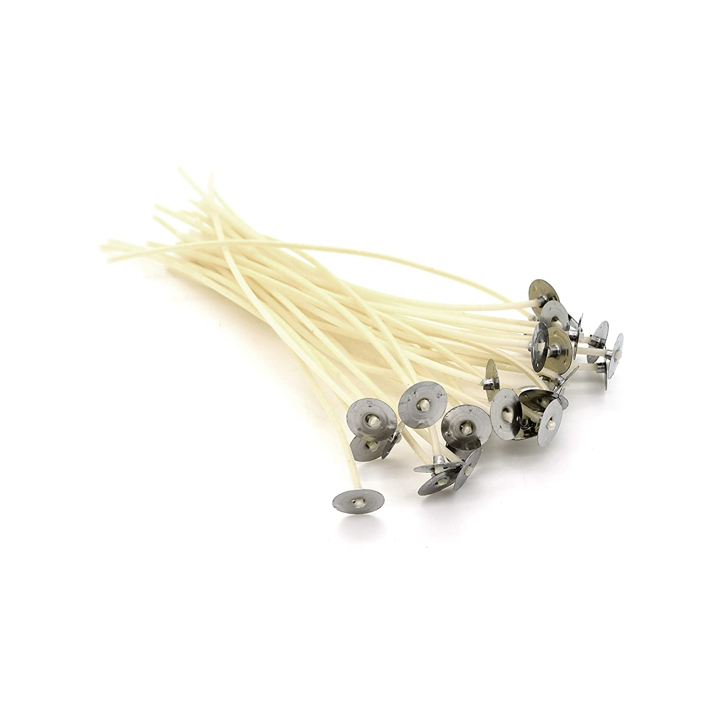 30 x 150mm Long Pre Waxed Wicks For Candle Making with sustainer`s Sola