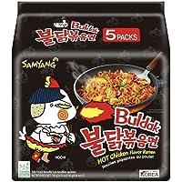 Samyang Origin Hot Chicken Ramen Noodles, 140 gm x 5