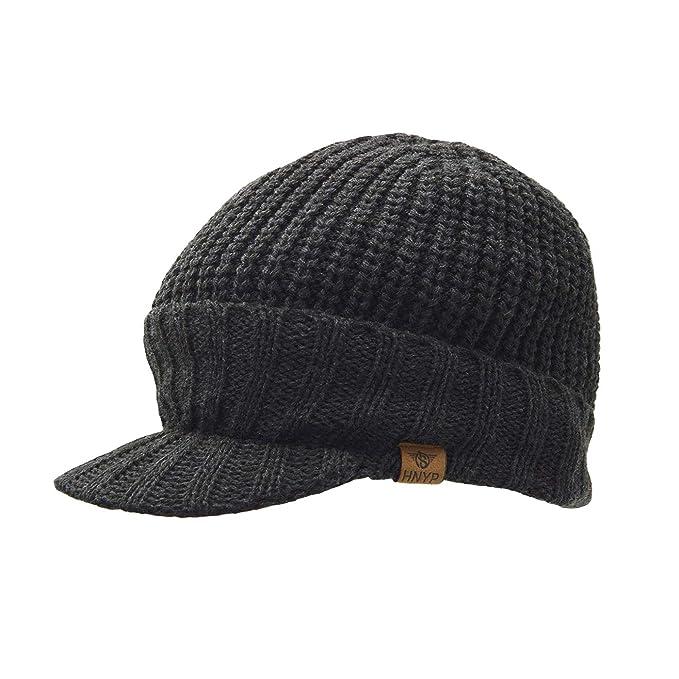 Uphitnis Dünn Knit Beanie Für Herren Damen Wolle Weiche Stretch