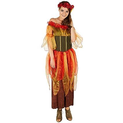 dressforfun Costume da Donna - Fata Dell Autunno  1139e1f24638