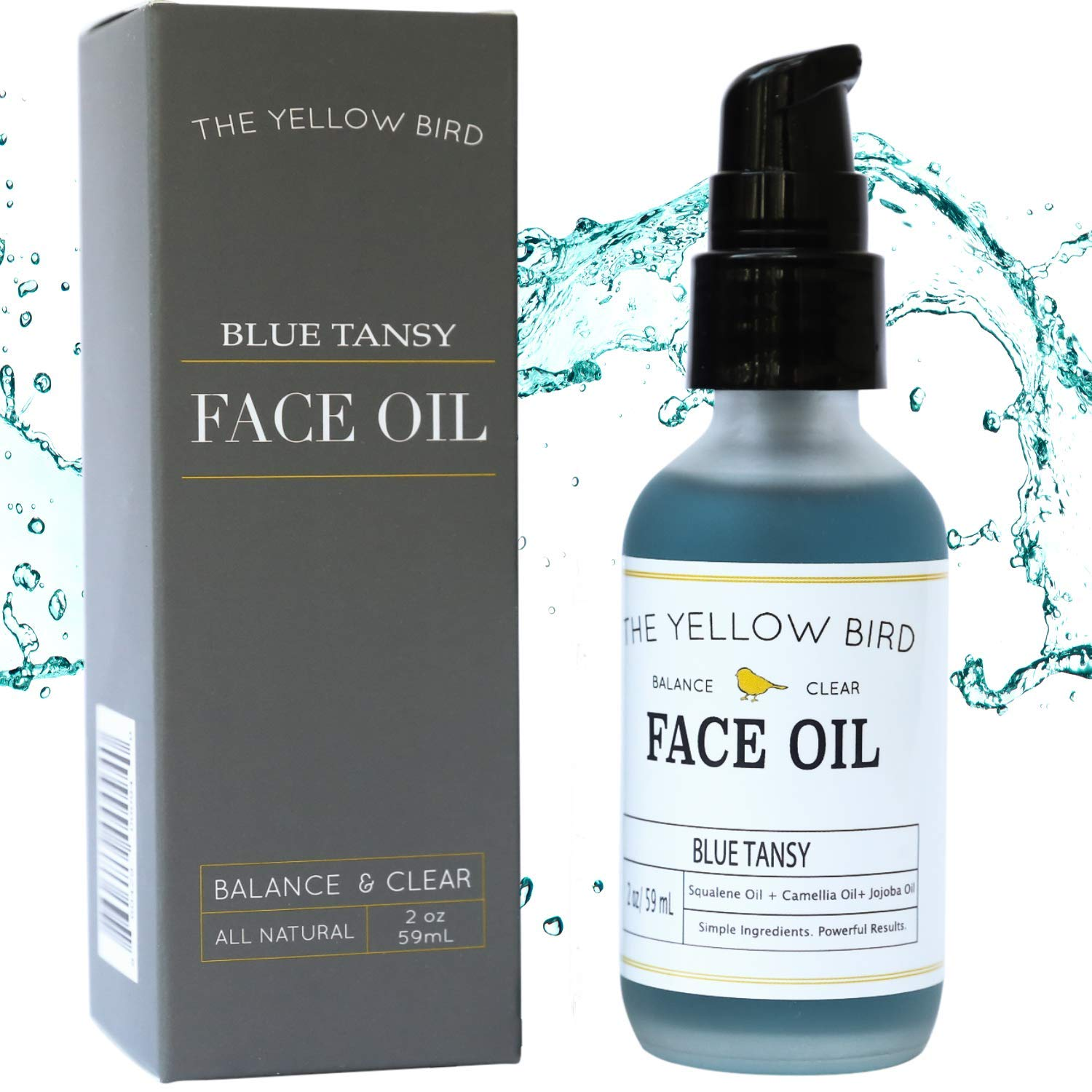 Amazon Com Balancing Blue Tansy Face Oil Skin Glowing Serum