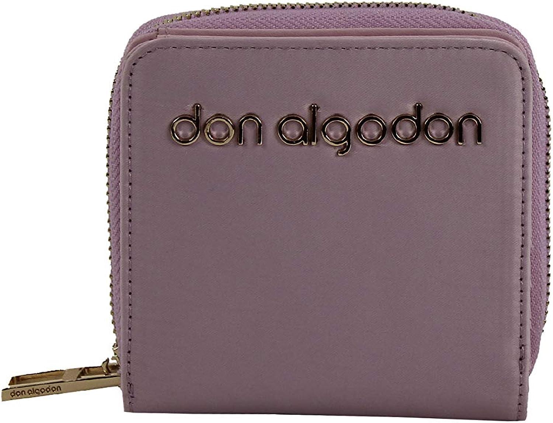Don algodón Urban, Cartera Monedero Billetera de Mujer, Malva, 11x10 cm: Amazon.es: Zapatos y complementos
