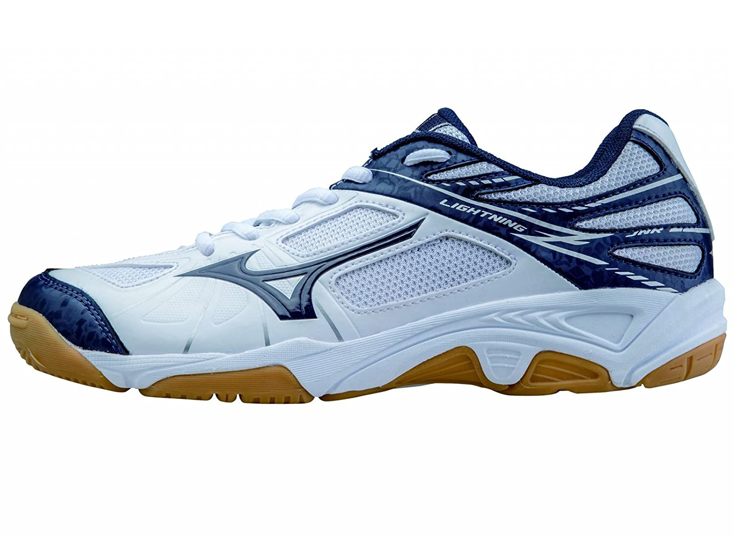 Mizuno -Zapatilla Lightning Star Z Jr White-Blue Talla - 33