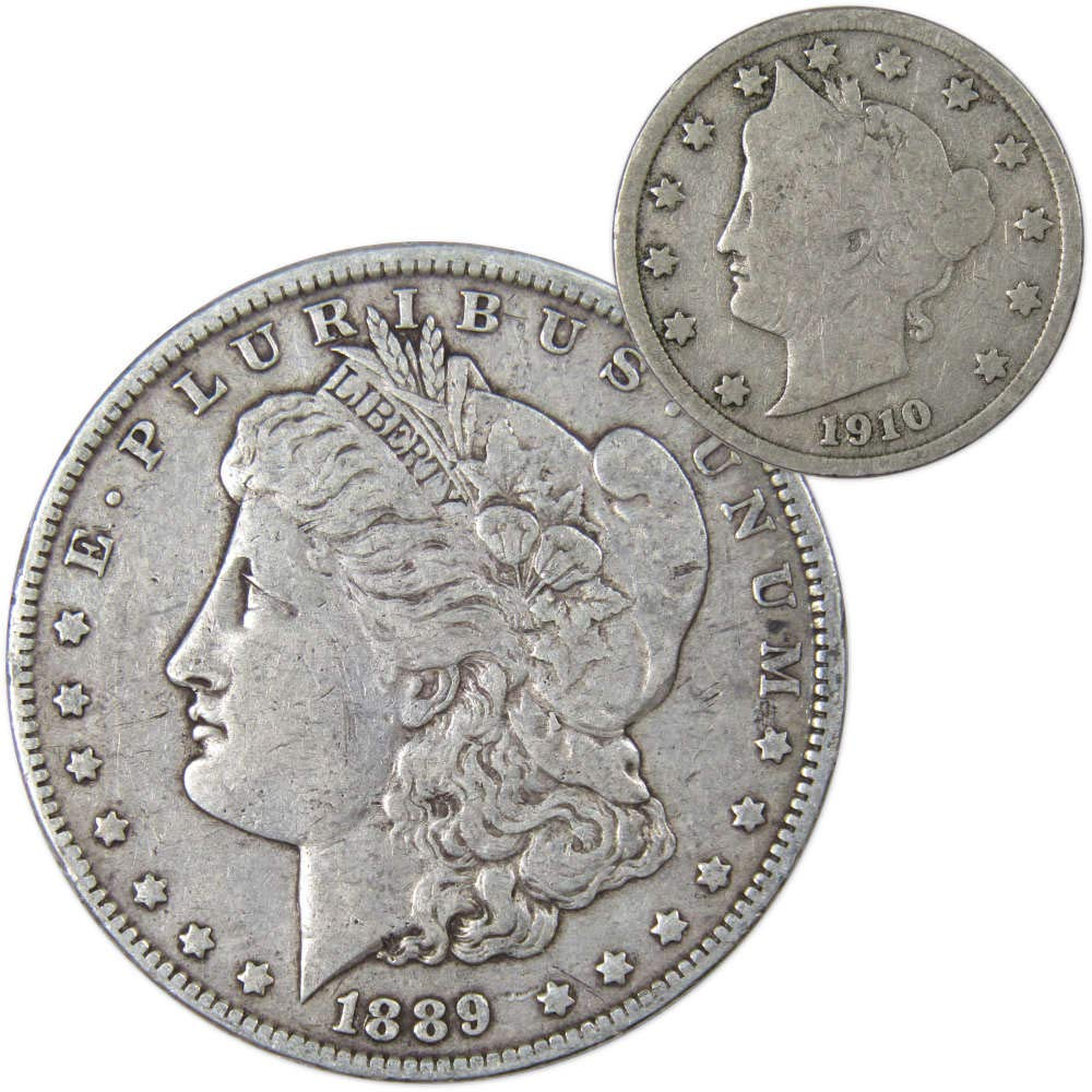 1885-P US MORGAN SILVER DOLLAR CH-AU IN 90/% SILVER ~NICE WHITE!