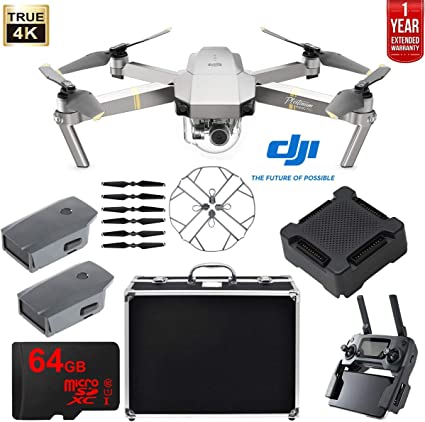 64GB Memory Card DJI Mavic Pro Platinum Fly More Combo Collapsible Quadcopter Drone Bundle Landing Kit and More 2 Extra Battery