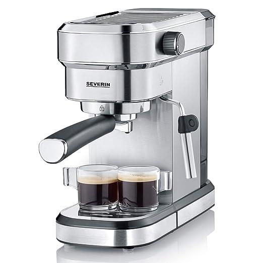 Severin KA 5994 Espresa - Cafetera espresso, 1350 W, 1.1 L ...