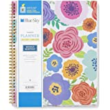 """Blue Sky """"Mahalo"""" CYO (Create Your Own) Cover 8.5 x 11 Weekly/Monthly Planner, Jul 2017 to Jun 2018"""