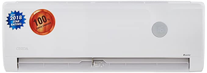Onida 1 Ton 3 Star Inverter Split AC (Copper, IR123IRS, IRIS)