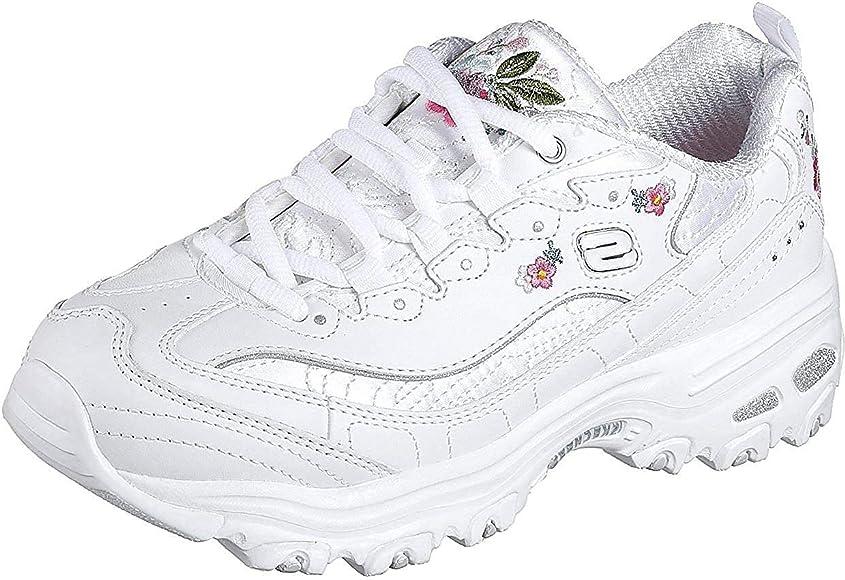 Bright Blossoms Sneaker, white
