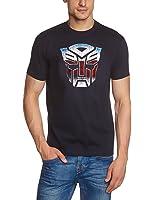 Coole-Fun-T-Shirts Herren T-Shirt Transformers Logo