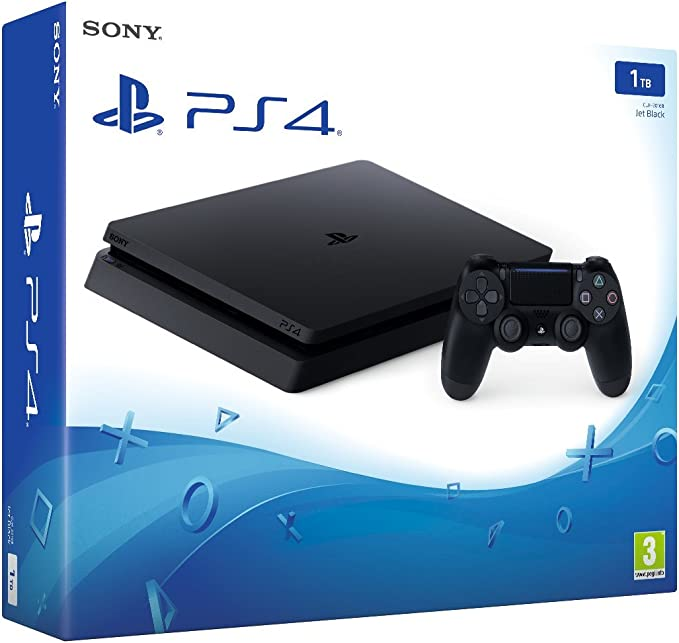 PlayStation 4 (PS4) - Consola Slim 1 TB: Amazon.es: Videojuegos
