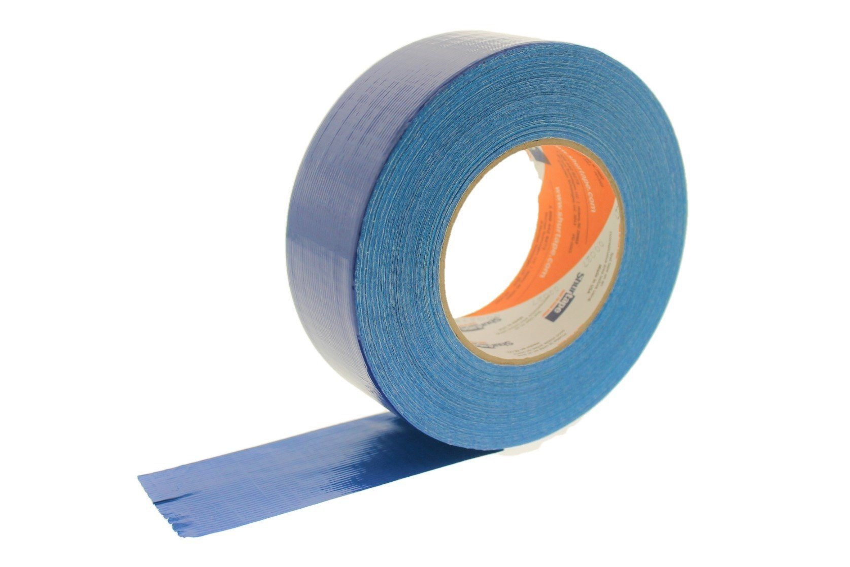 PC-600 Shurtape 2'' Navy Blue 9 Mil Cloth Duct Tape Waterproof Hand Tearable UV Resistant High Visibility Industrial Grade Heavy Duty Pro Colored Duct Tape Colors USA Made 60yd