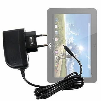 DURAGADGET Cargador (2 Amperios) para Tablet Acer Iconia Tab ...