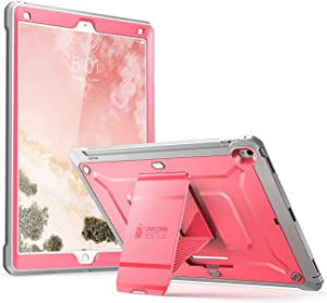 SUPCASE iPad Pro 12.9 Case 2017, [Heavy Duty] Unicorn Beetle Pro Series Rugged Protective Case Without Screen Protector for Apple iPad Pro 12.9 Inch 2017, Not Fit 2018 Version (Pink)