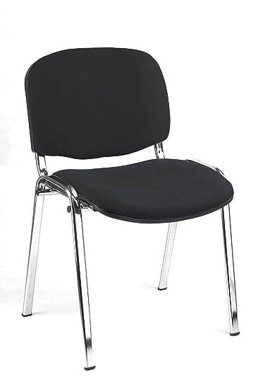 10X Besucherstuhl Stühle Warteraumstühle Büromöbel stapelbar 220225 ...