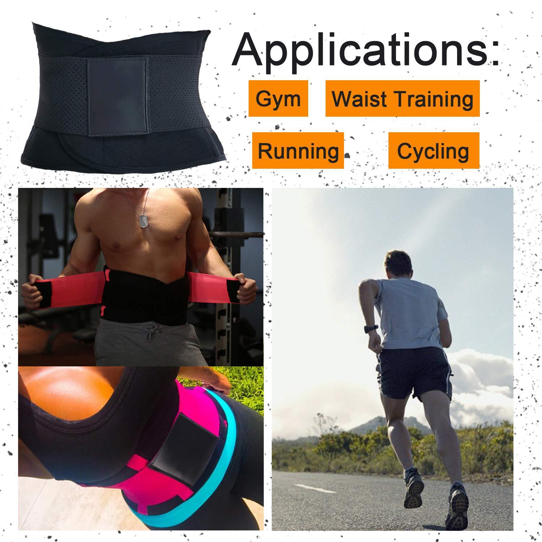 Womens Waist Trainer Body Shaper Belt Slimming Waist Trimmer Cincher for Weight Loss