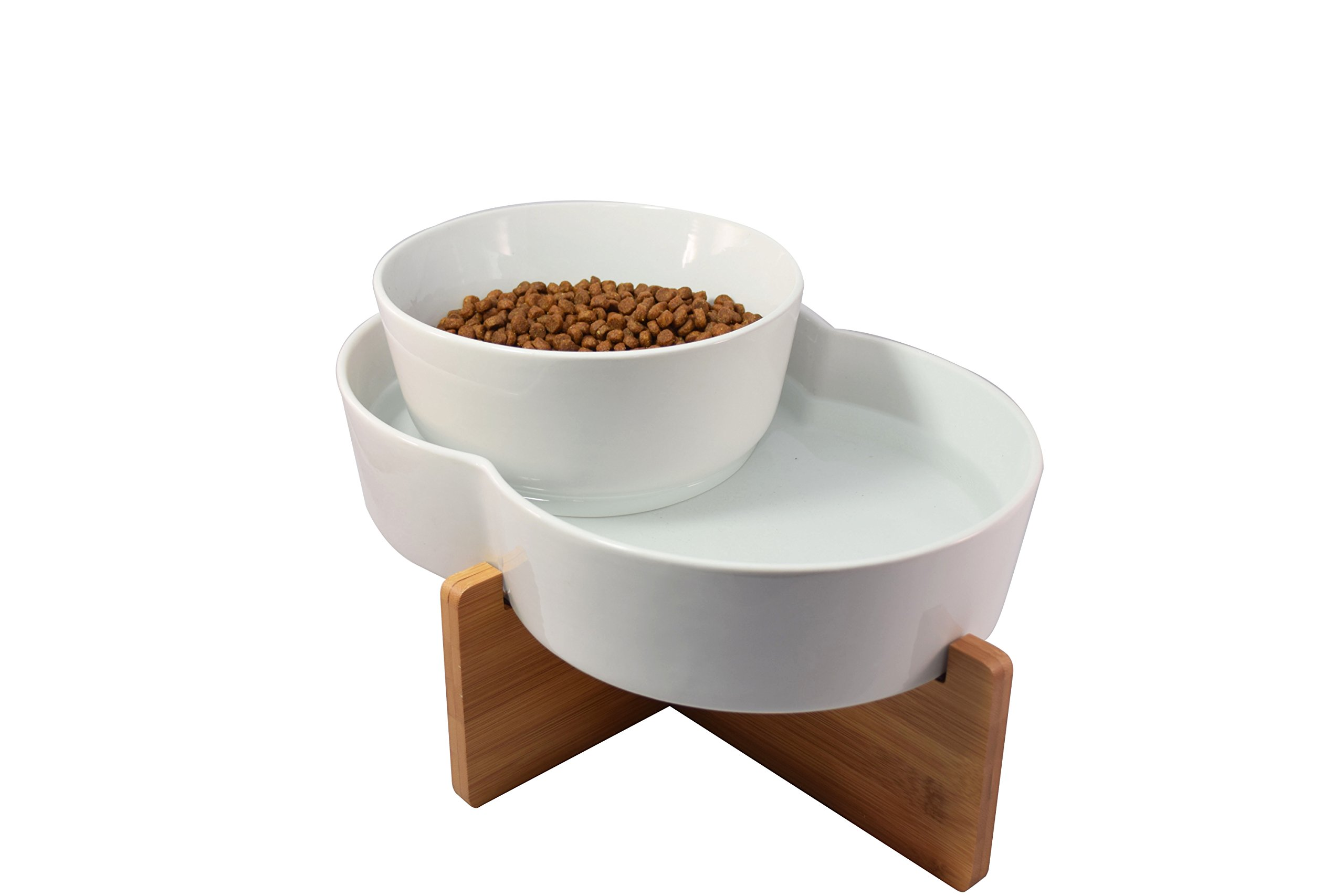 Highwave DFL9950 Lagoon Dog Dish, Large, White