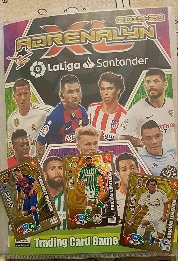 Panini Album Completo (463 Cards) de Adrenalyn XL 2019-2020 ...