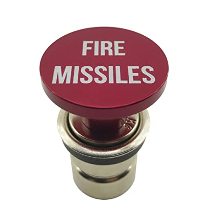 a45e5a51a672 Amazon.com  Fire Missiles Button Car Cigarette Lighter by Citadel Black -  Anodized Aluminum