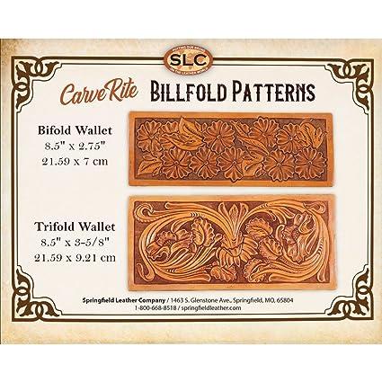 Amazoncom Springfield Leather Company Carverite Tooling Patterns