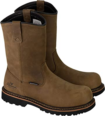 Wellington Safety Toe Boot